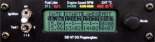 DEI-NT - Flugbuch