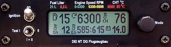 DEI-NT - Motor läuft