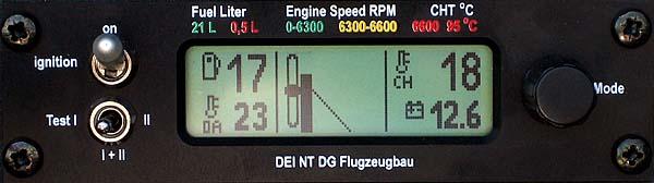DEI-NT - Motor ausgefahren