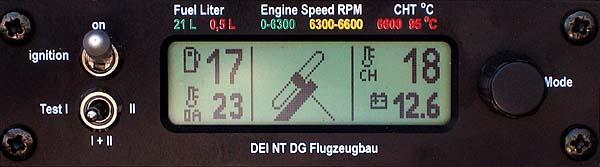 DEI-NT - Triebwerk fährt ein