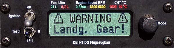 DEI-NT - Fahrwerkswarnung